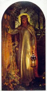 Light of the World. Holman Hunt.